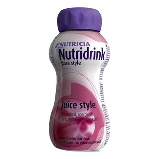 Nutricia Nutricia nutridrink juicestyle dieetvoeding 200ml aardbei 65458