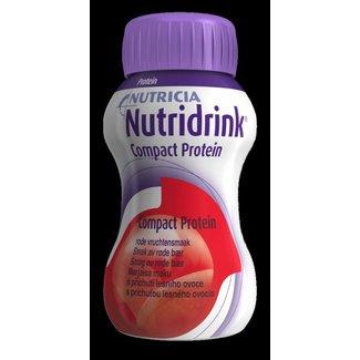 Nutricia Nutricia nutridrink compact protein drinkvoeding 125ml bosvruchten 97512