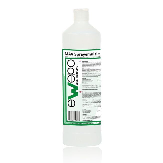 Ewepo Ewepo MAV sprayemulsie polymeer 1 liter