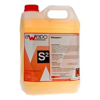 Ewepo Ewepo Weesan+ periodieke ontkalker 5 liter