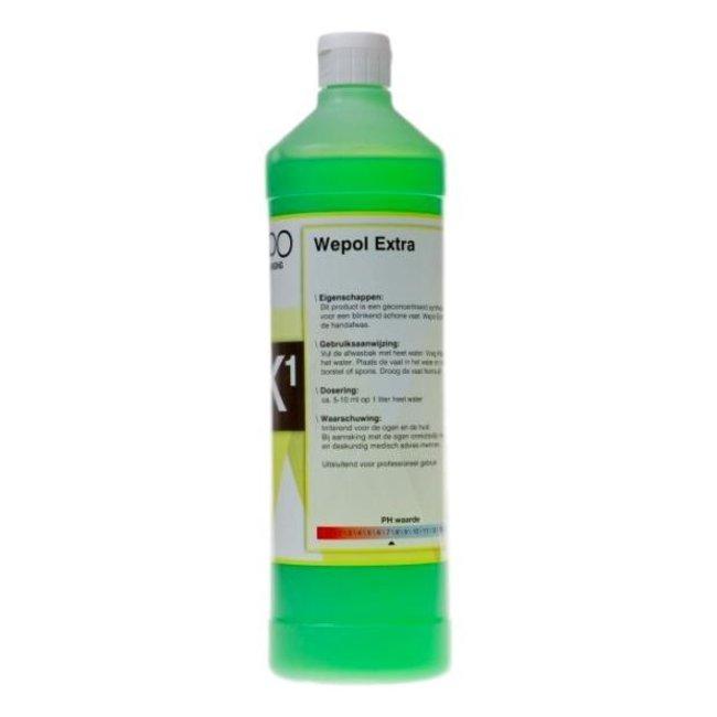 Ewepo Ewepo Wepol Extra hand afwasmiddel 1 liter