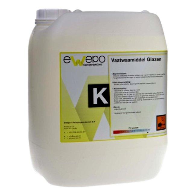 Ewepo Ewepo Vaatwasmiddel Glazen 10 liter