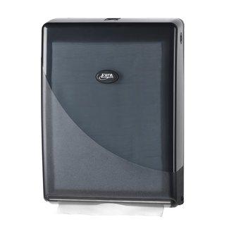 Euro products Ewepo Pearl Black handdoekdispenser voor multifolded/ c-vouw
