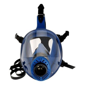 Spasciani Spasciani TR 2002 CL2 blauw TPE volgelaatsmasker