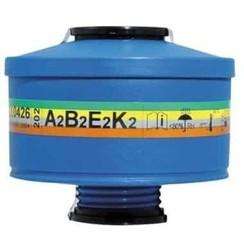 Spasciani 202 gas- en dampfilter A2B2E2K2 4 stuks