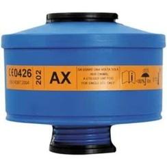 Spasciani 202 gas- en dampfilter AX 4 stuks