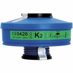 Spasciani 100 gas- en dampfilter K2 4 stuks
