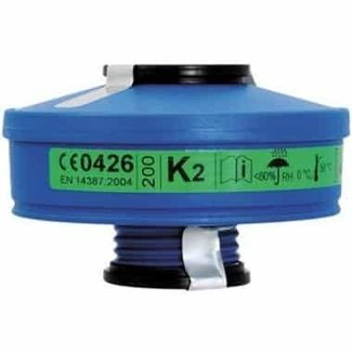Spasciani Spasciani 100 gas- en dampfilter K2 4 stuks