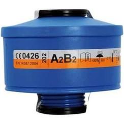 Spasciani 201 gas- en dampfilter A2B2 4 stuks
