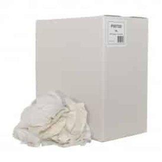 Huismerk Poetsdoeken WL1 wit 10kg