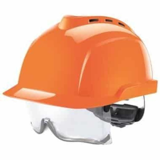 MSA MSA V-Gard 930 geventileerde veiligheidshelm oranje