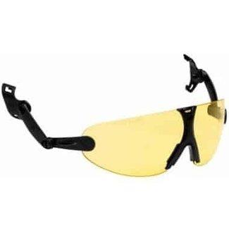 3M 3M Peltor V9A geïntegreerde veiligheidsbril geel
