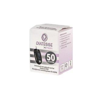 Diatesse Diatesse XPER teststrips 50 stuks