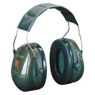 3M 3M Peltor Optime II H520A gehoorkap met hoofdband groen