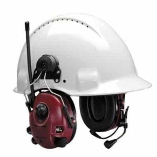 3M 3M Peltor Alert Flex Headset gehoorkap met helmbevestiging rood