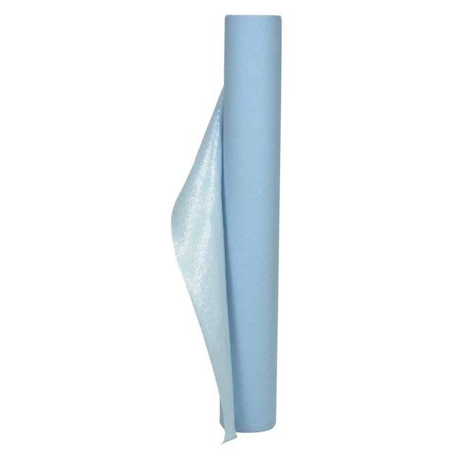 Abena Abri Clinic Onderzoeksbankpapier 1-laags geperforeerd 58cm x 65m blauw