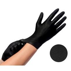 Comforties soft nitril Easyglide en Grip Zwart 100 stuks