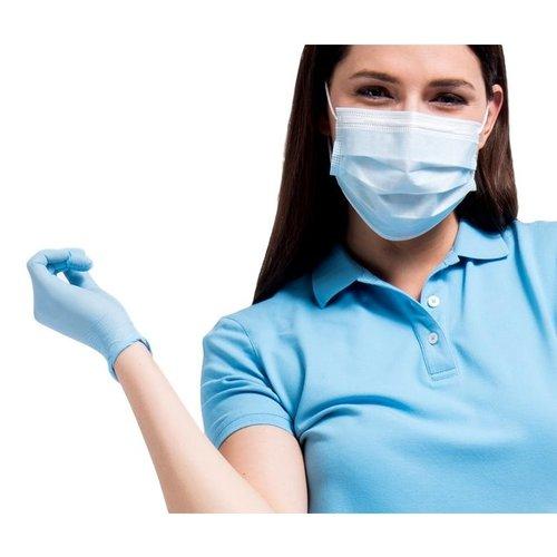 Comforties Comforties Nitril handschoenen blauw (soft nitril) Basic 150 stuks