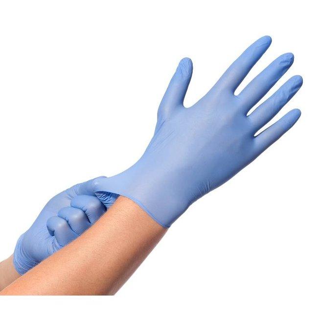 Comforties Comforties soft nitril handschoenen Violet /Blauw (premium) 100 stuks