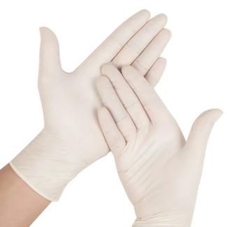 Romed Romed vinyl handschoenen poedervrij XL 100 stuks
