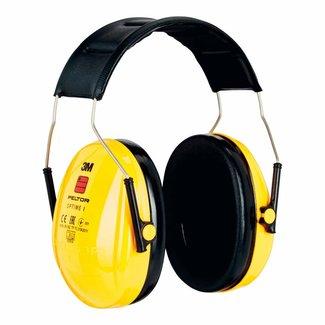 3M 3M Peltor Optime I H510A gehoorkap met hoofdband geel