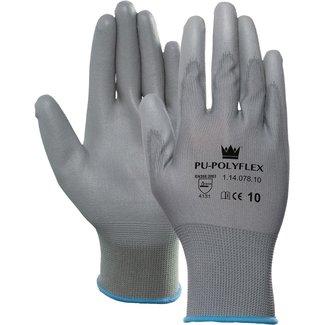M-Safe PU/polyester 1 paar handschoenen Grijs