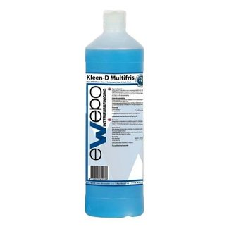 Ewepo Ewepo Kleen-D Multifris interieurreiniger 1 liter