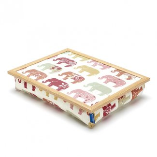 Blue Badge Lap Tray - schootkussen - olifant Nelly