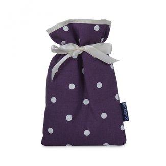Blue Badge Warmwaterkruiken - paars gestipt
