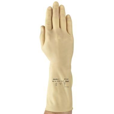 Handschoenen latex en natuurrubber