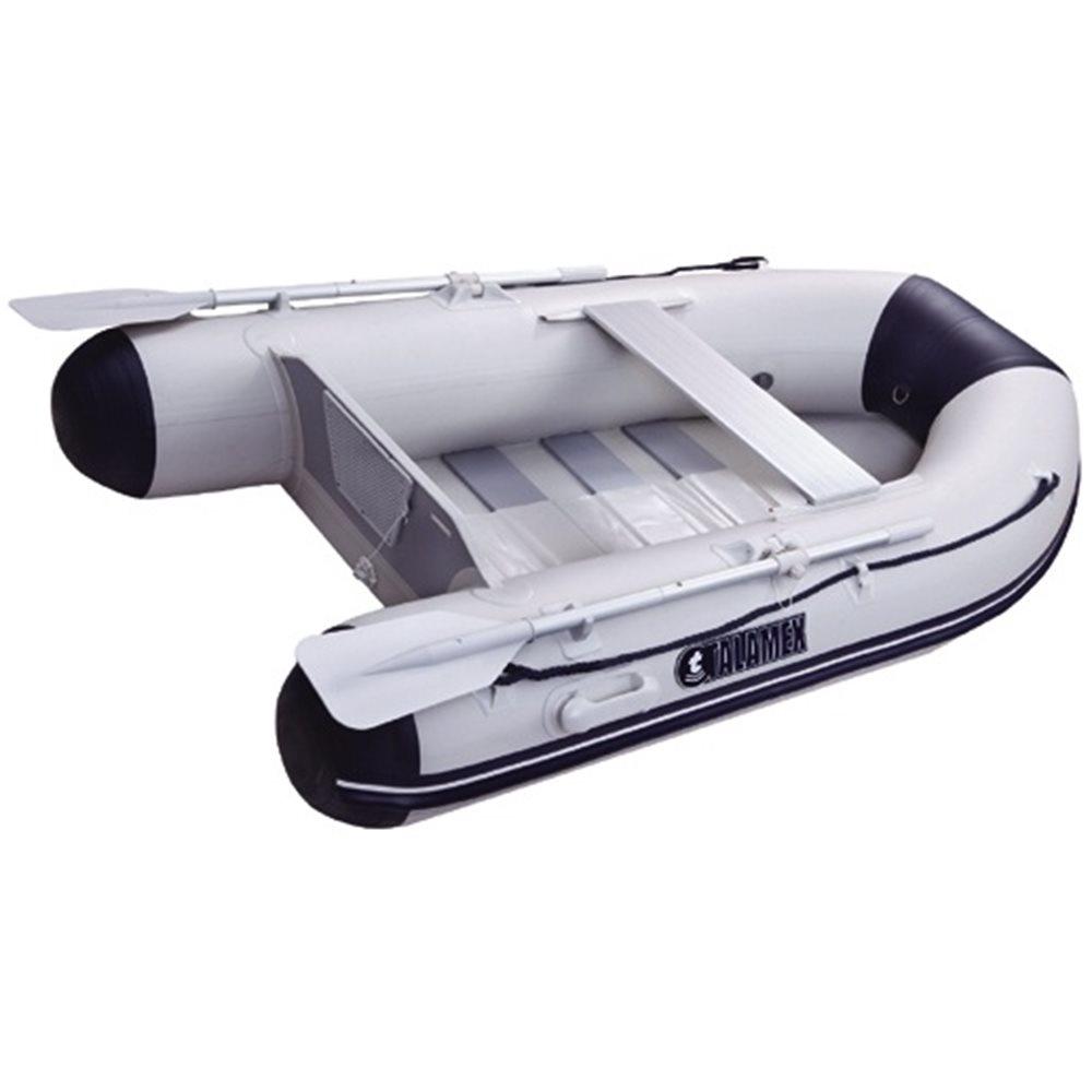 Rubberboot met lattenbodem