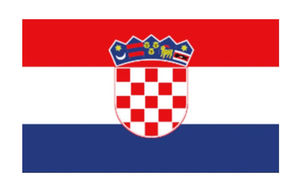 Kroatische vlaggen