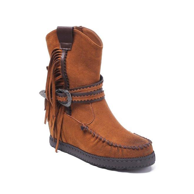Bohemian boots Franjes Camel