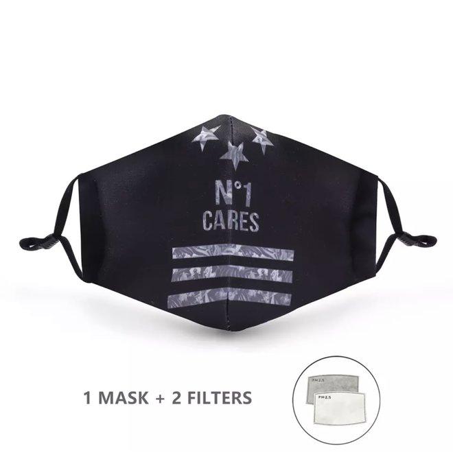 Mondkapje met 2 filters - No 1 cares