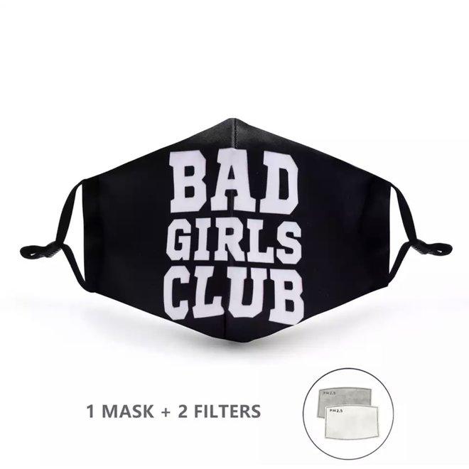 Mondkapje met 2 filters - Bad Girls Club