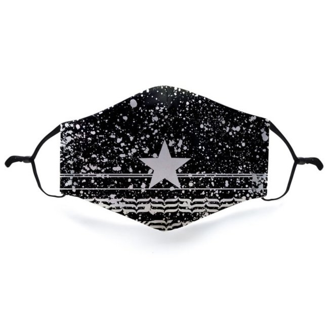 Mondkapje met 2 filters - Star