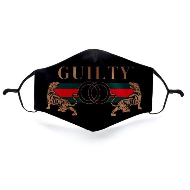 Mondkapje met 2 filters - Guilty