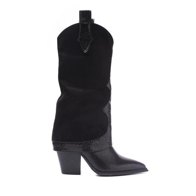 Laarzen Suede look Zwart