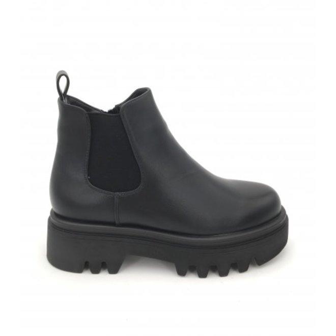 Chelsea Boots Plateau Zool Zwart