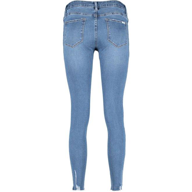 Queen Hearts Jeans Blauw