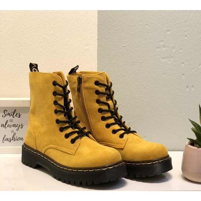 Veterboots plateau suède OKER (36/41) musthave