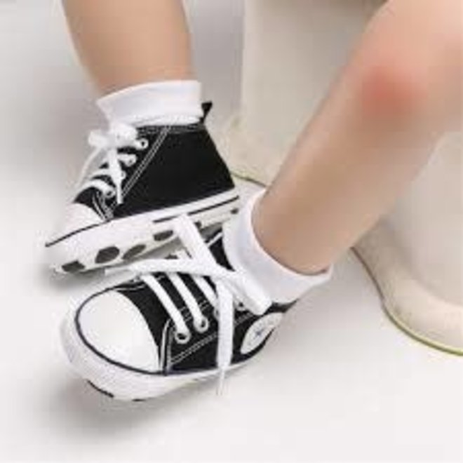 Baby sneakers all stars Zwart