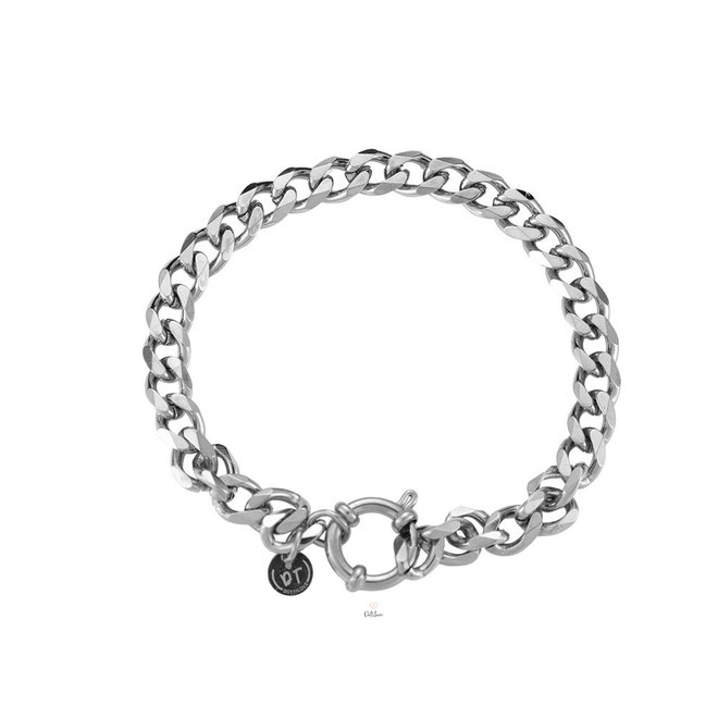 Chain armband zilver fijn
