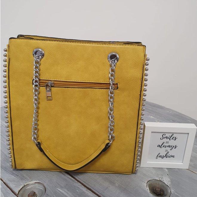 Shopper Studs Geel