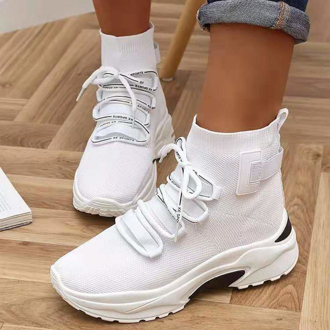 Sock sneakers Wit