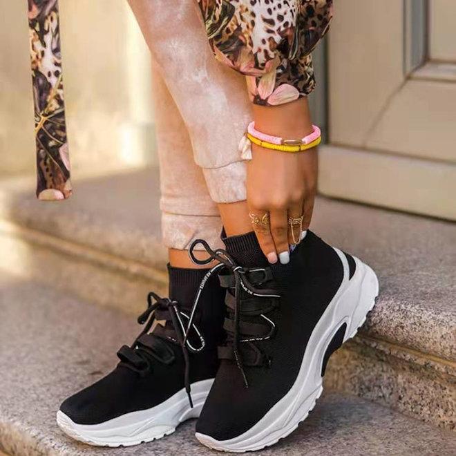 Sock sneakers Zwart