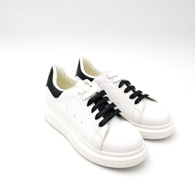 Sneakers Alexis Wit Zwart