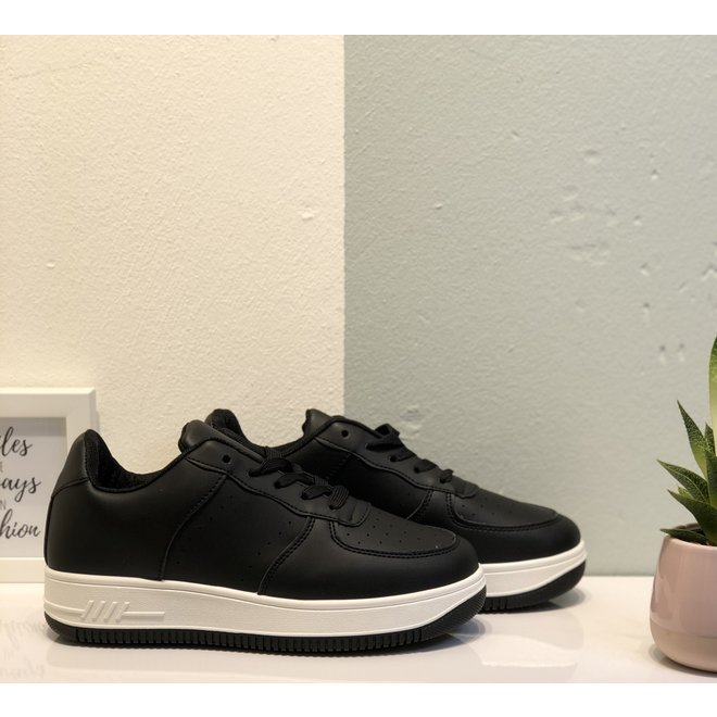 Sneakers street Zwart