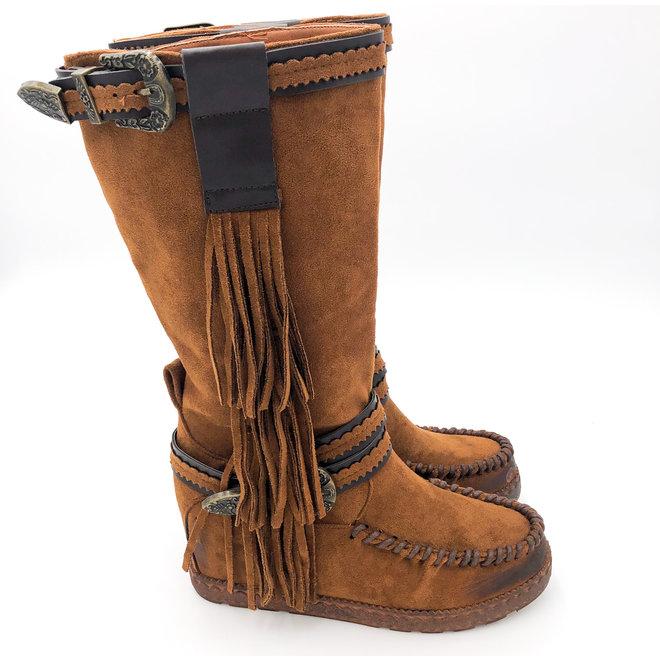 Bohemian boots Franjes Hoog Camel