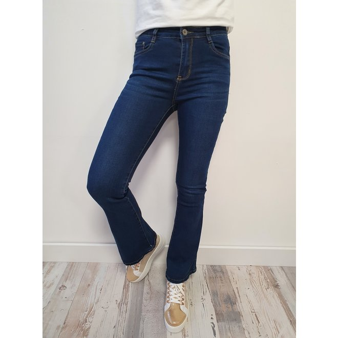 Jeans Bootcut Dark Blue